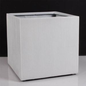 Chậu vuông composite vân